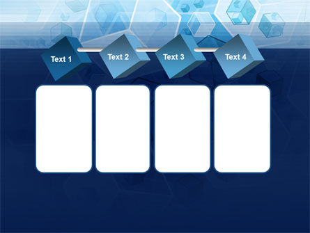 Cubes Pattern PowerPoint Template Slide 18
