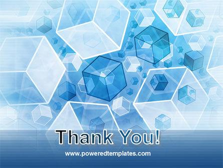 Cubes Pattern PowerPoint Template Slide 20