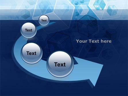 Cubes Pattern PowerPoint Template Slide 6