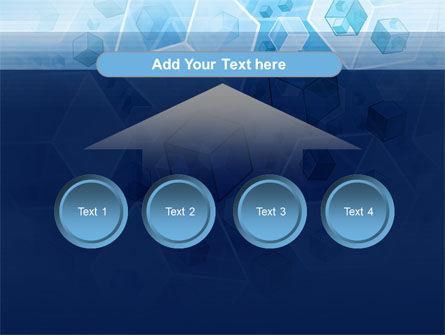 Cubes Pattern PowerPoint Template Slide 8
