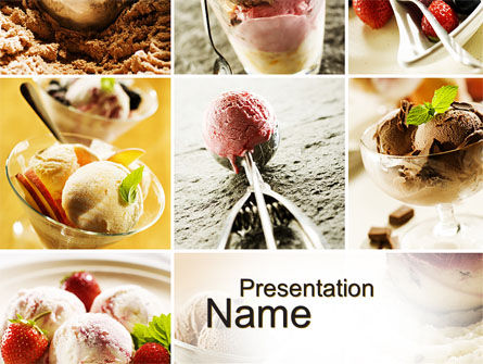 Refreshing and Yummy PowerPoint Template