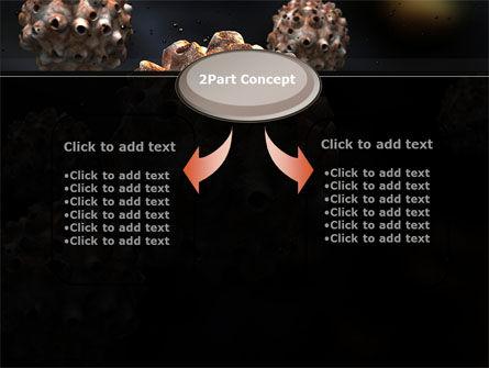 Virus Invasion PowerPoint Template, Slide 4, 10558, Medical — PoweredTemplate.com