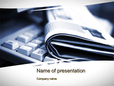 News and Media PowerPoint Template