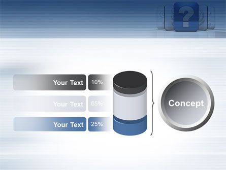 Question Icon PowerPoint Template Slide 11