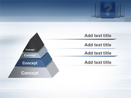 Question Icon PowerPoint Template Slide 12