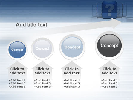 Question Icon PowerPoint Template Slide 13