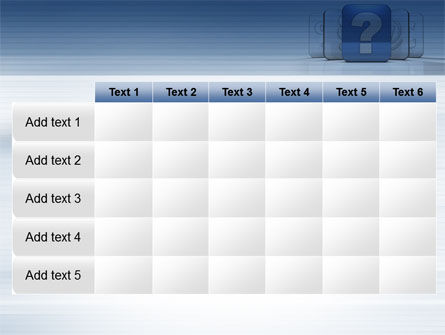 Question Icon PowerPoint Template Slide 15