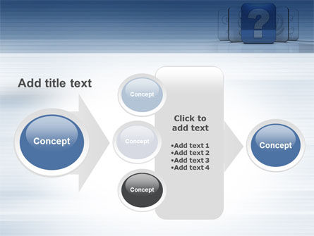 Question Icon PowerPoint Template Slide 17