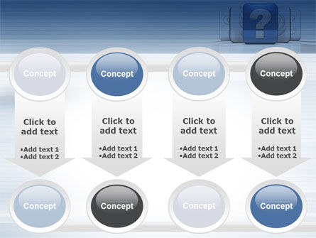 Question Icon PowerPoint Template Slide 18
