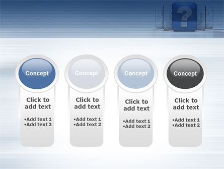 Question Icon PowerPoint Template Slide 5