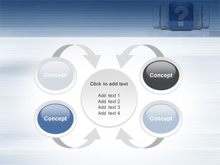 Question Icon PowerPoint Template Slide 6