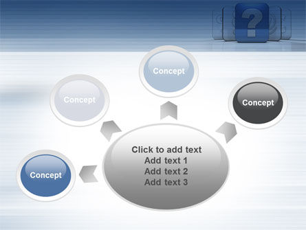 Question Icon PowerPoint Template Slide 7