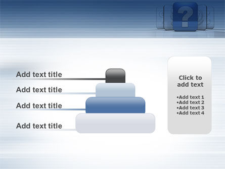 Question Icon PowerPoint Template Slide 8