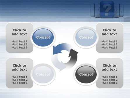 Question Icon PowerPoint Template Slide 9
