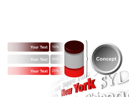 Destination New York PowerPoint Template Slide 11
