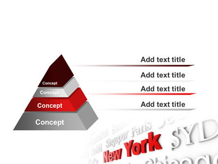 Destination New York PowerPoint Template Slide 12