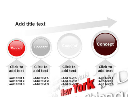Destination New York PowerPoint Template Slide 13