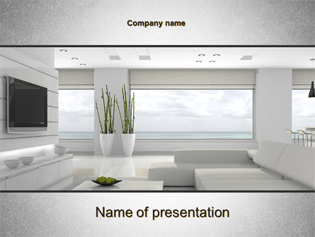 Careers/Industry: Airy Interior PowerPoint Template #10564
