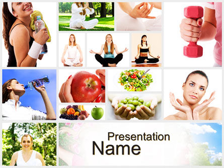 People: Sports and Lifestyle PowerPoint Template #10565