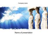 Education & Training: Ancient PowerPoint Template #10566