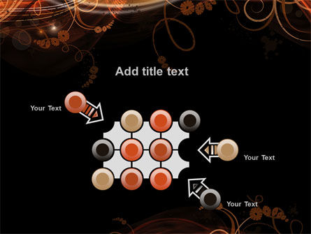 Fire Flowers PowerPoint Template Slide 10