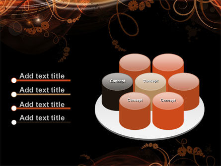 Fire Flowers PowerPoint Template Slide 12