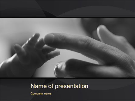 Religious/Spiritual: Touching PowerPoint Template #10570