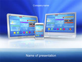 Technology and Science: Responsive Design PowerPoint Template #10571