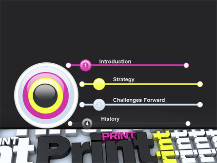 Print PowerPoint Template, Slide 3, 10574, Careers/Industry — PoweredTemplate.com
