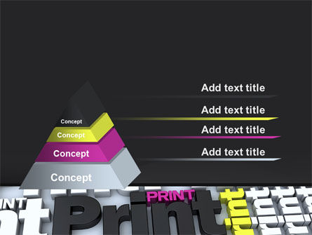 Print PowerPoint Template, Slide 4, 10574, Careers/Industry — PoweredTemplate.com