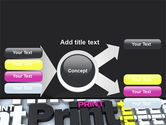 Print PowerPoint Template#15