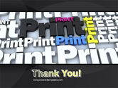 Print PowerPoint Template#20