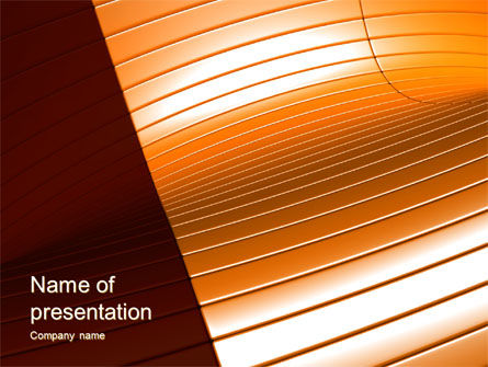 Abstract/Textures: 3D Surface PowerPoint Template #10575