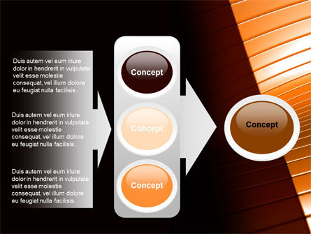3D Surface PowerPoint Template Slide 11