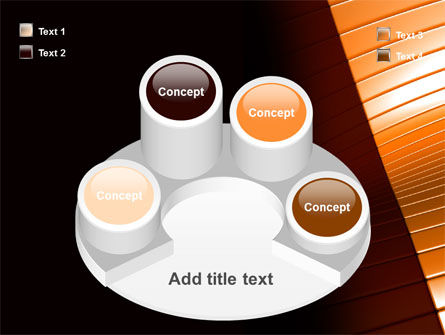 3D Surface PowerPoint Template Slide 12