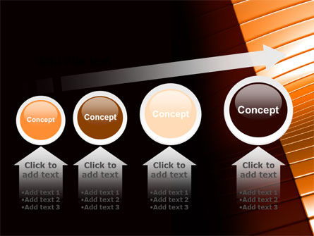3D Surface PowerPoint Template Slide 13
