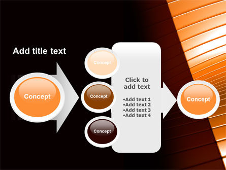 3D Surface PowerPoint Template Slide 17