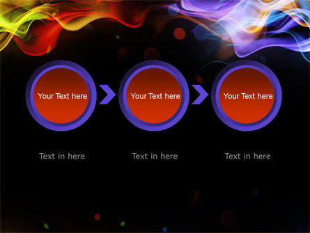Spectrum Fog PowerPoint Template Slide 5