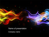 Abstract/Textures: Spectrum Fog PowerPoint Template #10577