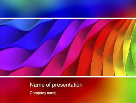 Abstract/Textures: Colorful PowerPoint Template #10580