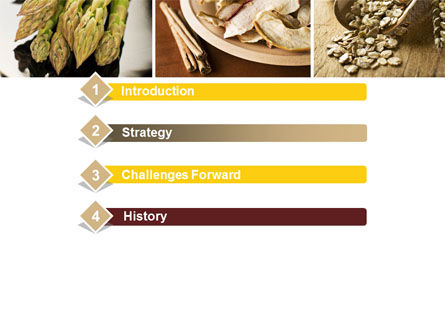 Proteins Fats and Carbohydrates PowerPoint Template, Slide 3, 10581, Food & Beverage — PoweredTemplate.com