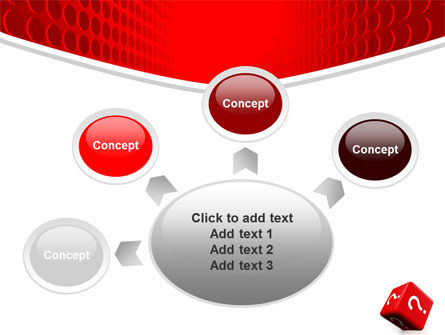 Question Cube PowerPoint Template Slide 7
