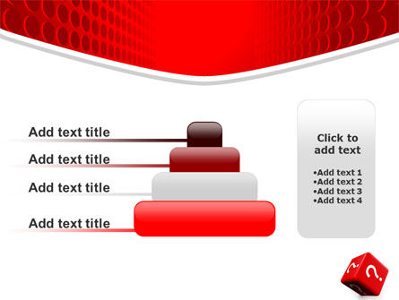 Question Cube PowerPoint Template Slide 8