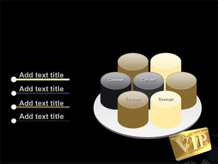 VIP Card PowerPoint Template Slide 12