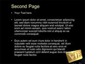 VIP Card PowerPoint Template#2