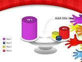 3D Hands Up PowerPoint Template#10