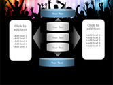 Cheering Crowd PowerPoint Template#13