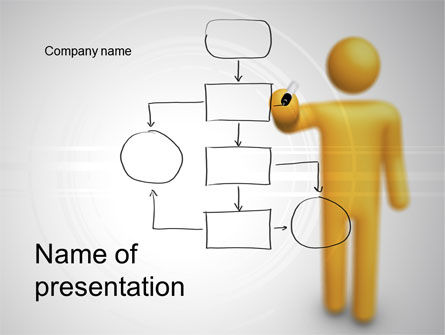 Technology and Science: Algorithm PowerPoint Template #10587