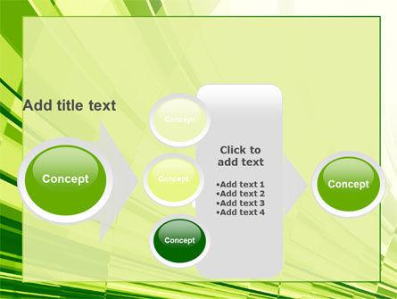 Abstract Fan PowerPoint Template Slide 17