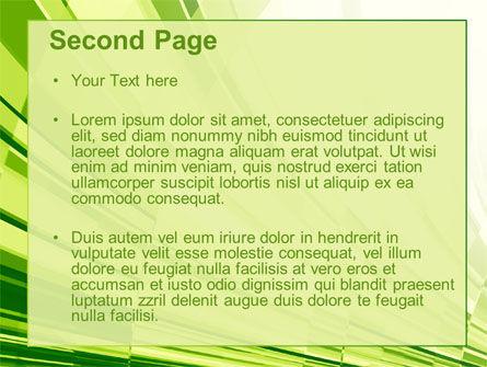 Abstract Fan PowerPoint Template, Slide 2, 10589, Abstract/Textures — PoweredTemplate.com